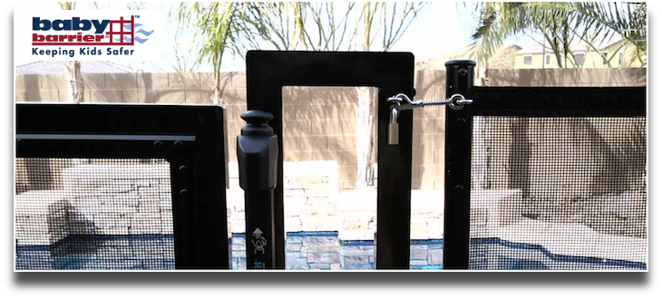 2 Baby Barrier Pool Fence of Central Florida - Premier Pool Safety Fence