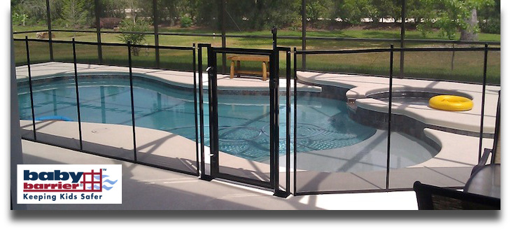 5 Baby Barrier Pool Fence of Central Florida - Premier Pool Safety Fence
