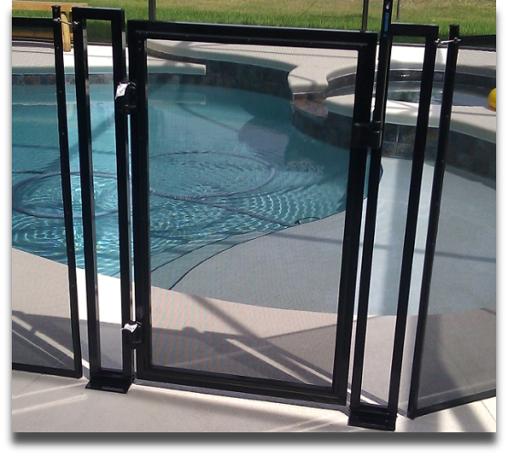 Pool safety baby barrier fence of central florida