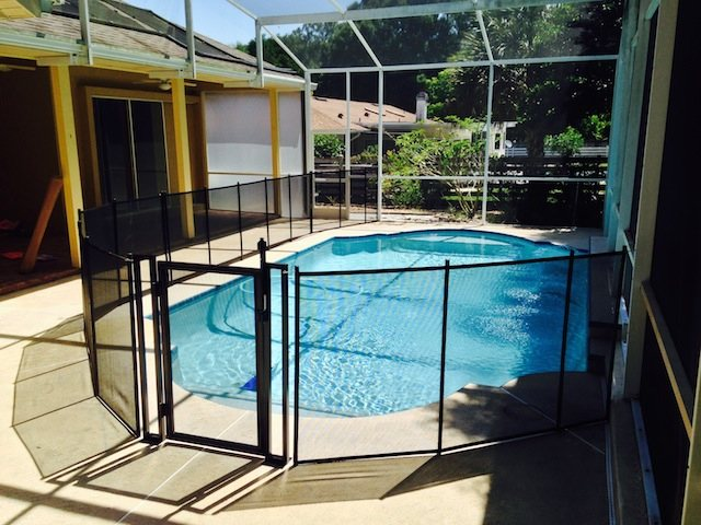 Self Closing Pool Fence Gate Baby Barrier Of Central Florida