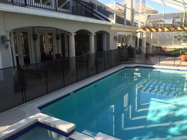 Surrounding Pools In Central Florida Baby Barrier Of