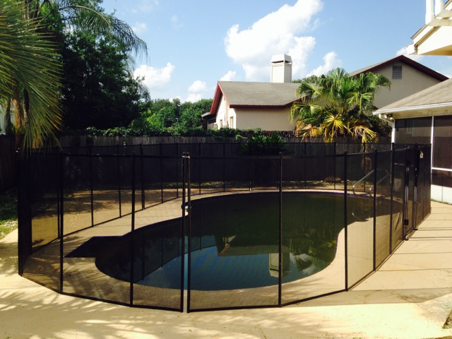 Clermont Pool Fence Baby Barrier Of Central Florida