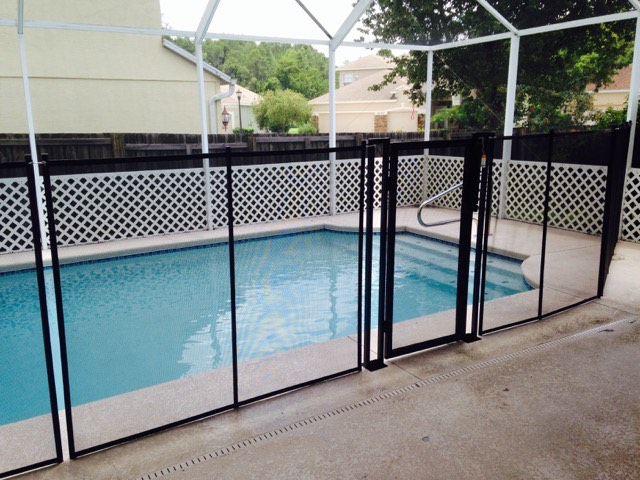 Pool safety fence gates baby barrier of central florida