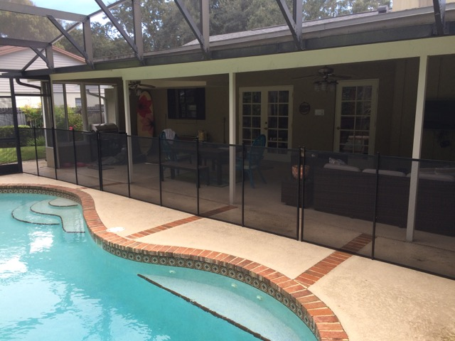 Pool guard fence baby barrier of central florida