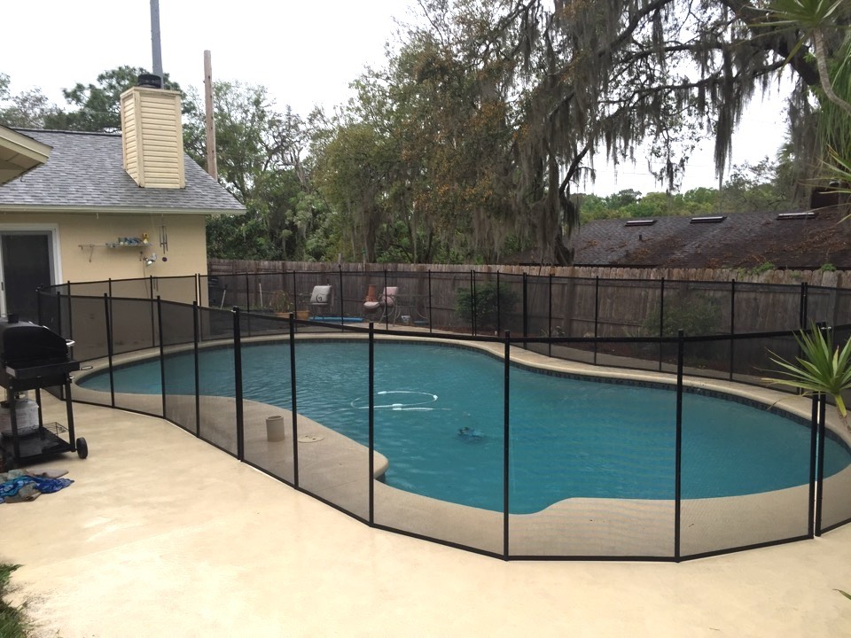 Swimming Pool Safety Fence Baby Barrier Of Central Florida