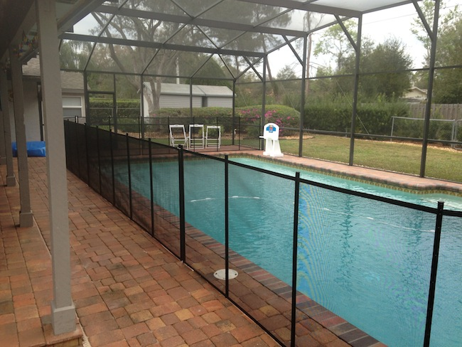 20 winter park pool safety fence baby barrier of for Winter garden pool