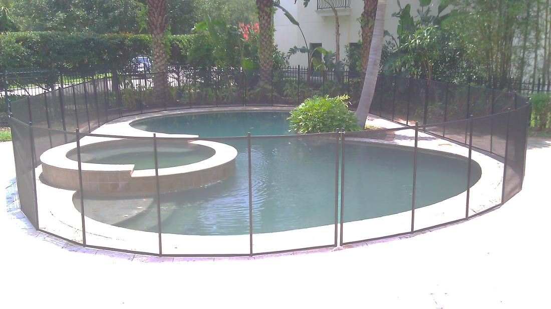 Celebration Family Pool Fence