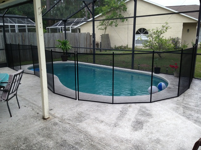 Kissimee FL Pool Safety Fence