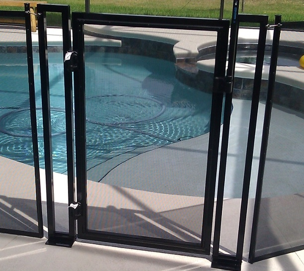 Baby Gate Baby Barrier Pool Fence of Central Florida Premier Pool Safety Fence