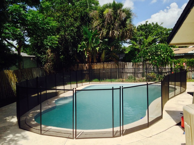 Baby barrier pool fence protect a child orlando