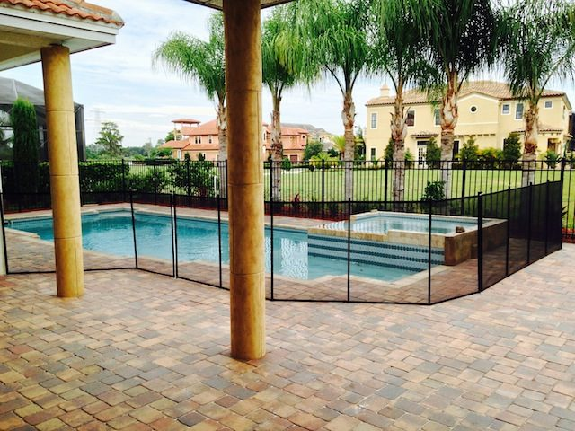 Bay Hill Pool Fence Install