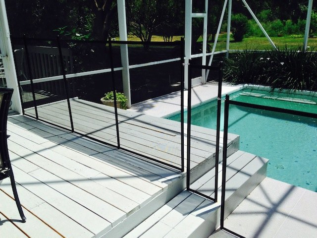 Baby Barrier Pool Guard Fence Pool Steps
