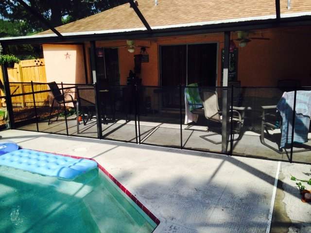 Orlando Pool Fence Protect A Child Baby Barrier 174 Of
