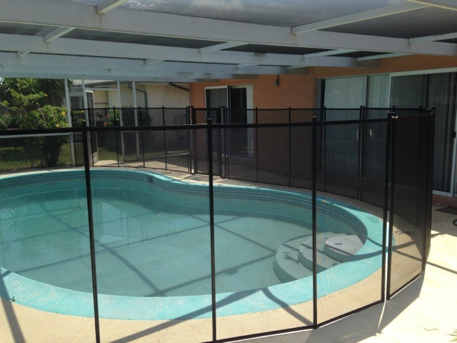 Baby Barrier Pool Safety Fence Port Richey