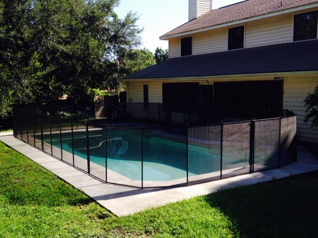 Pool Fence In Lake Mary