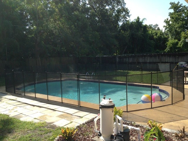 Family Pool Fence