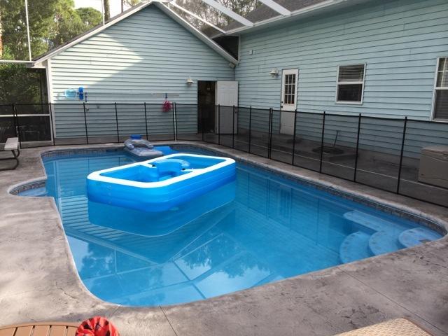 Cocoa Pool Fence