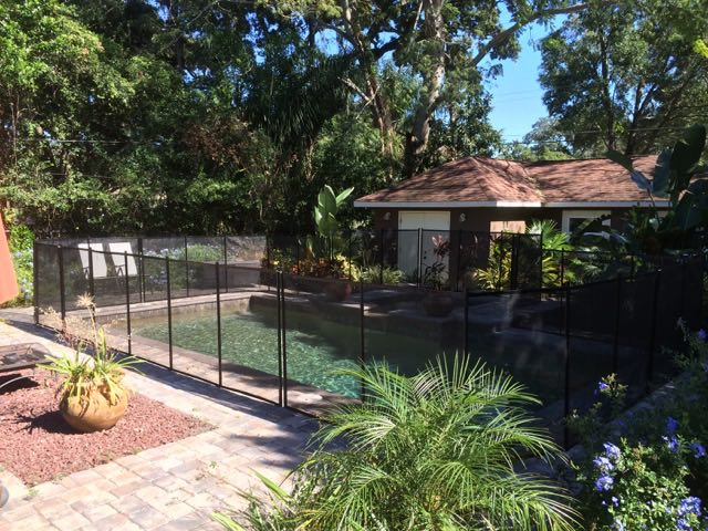 Safety Pool Fence Orlando Baby Barrier 174 Of Central Florida