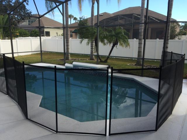 Winter Garden Pool Fence