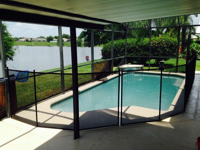 Baby Barrier Orlando Pool Fence Baby Barrier 174 Of Central
