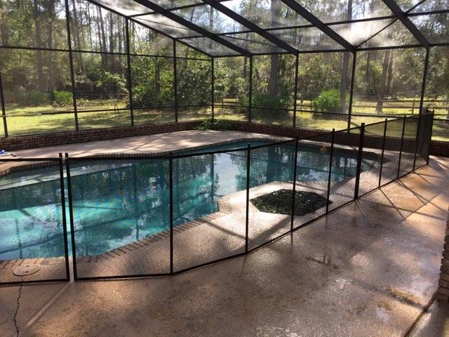 Oviedo Pool Fence