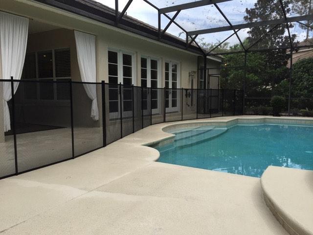 Lake Mary FL Pool Fence