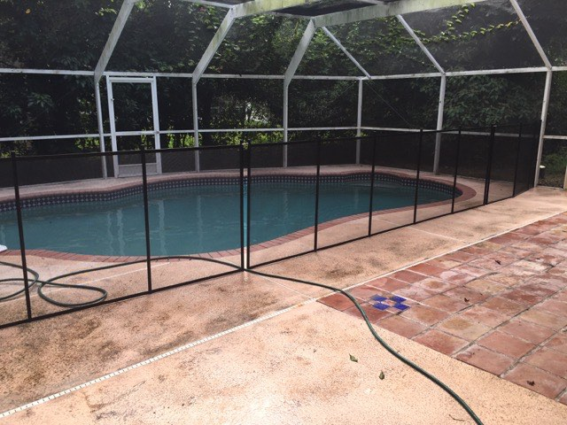 Pool Fence Protects