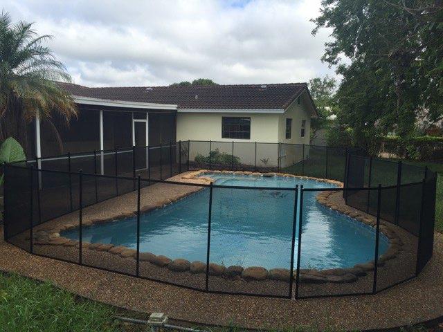 Oviedo FL Florida Pool Fence
