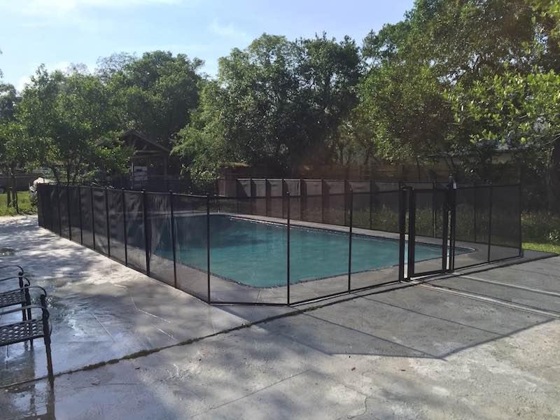 Sanford Family Pool Fence