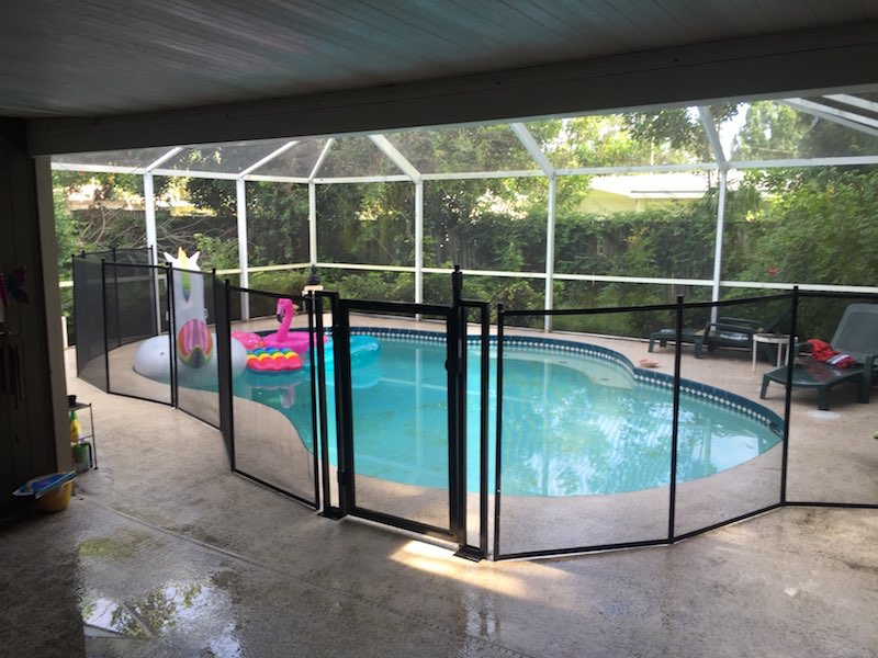 Pool fence safety gates baby barrier of central florida