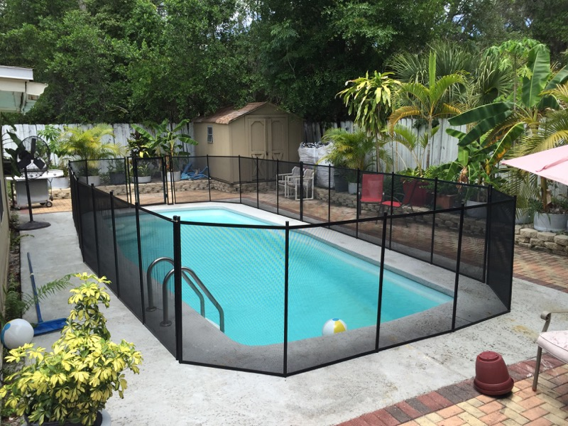 Sanford Swimming Pool Fence Baby Barrier 174 Of Central Florida