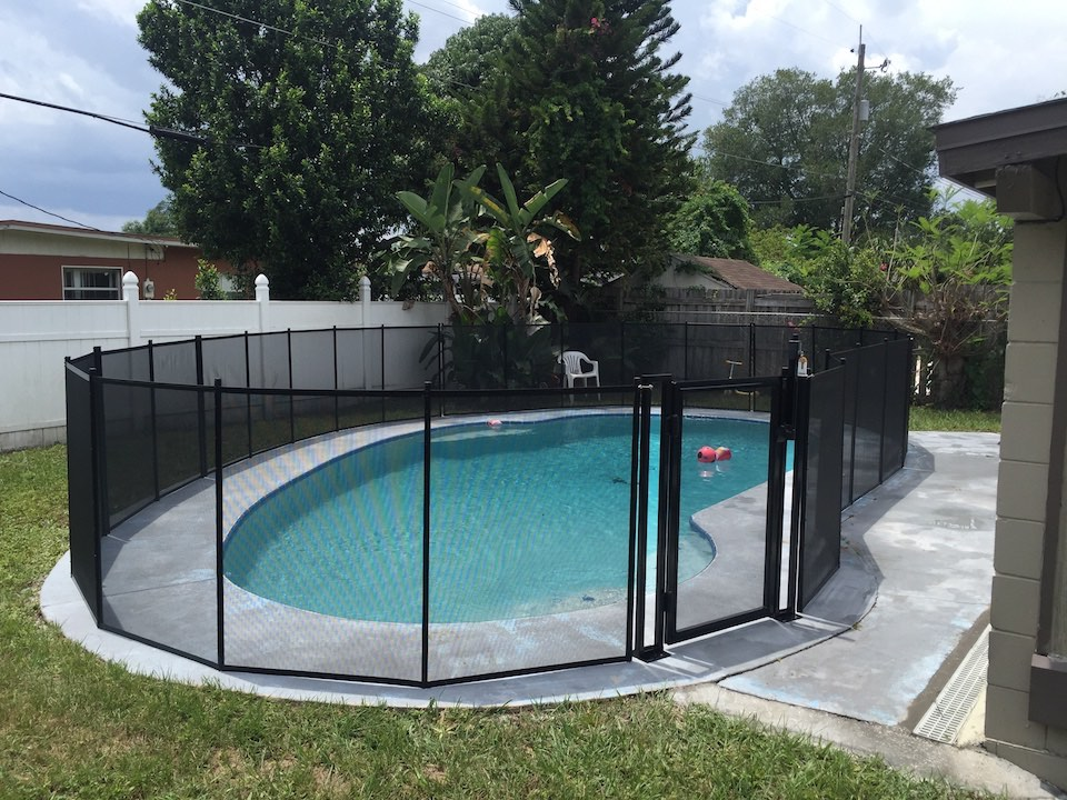 Winter Springs Pool Fencing Baby Barrier 174 Of Central Florida