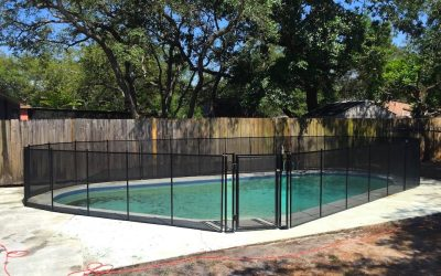 Lake Mary Pool Fence