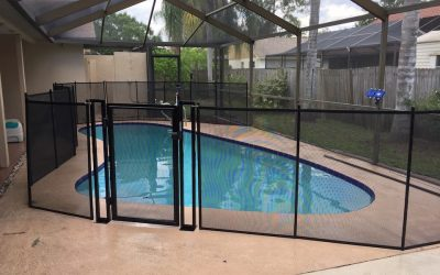 Gates Pool Fence