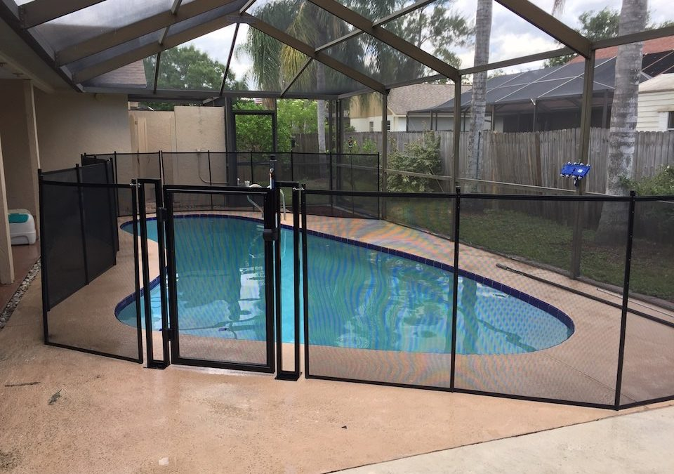 Gates Pool Fence