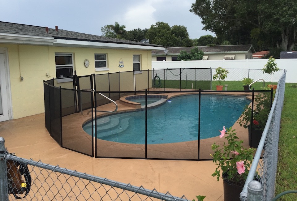 Florida Maitland Pool Fence