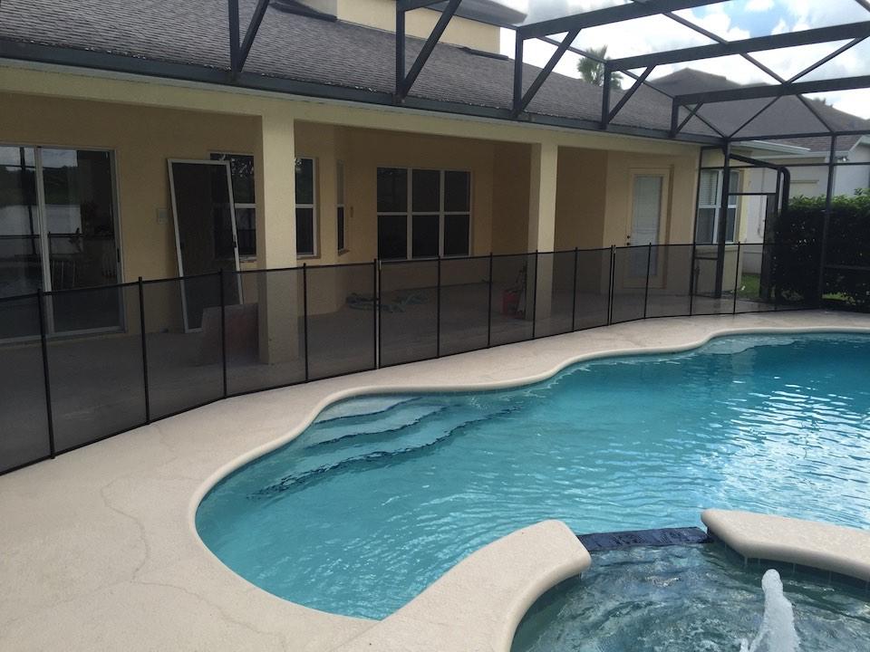 Hunters Creek Pool Fence Florida