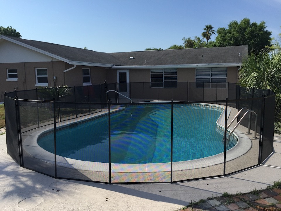 Pool Winter Park Fence