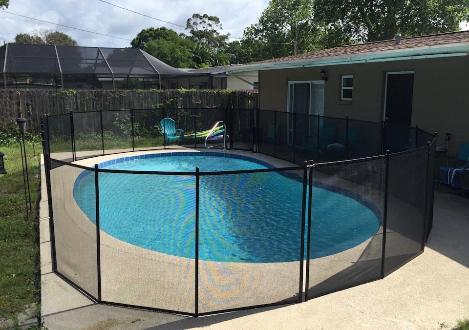 Sanford Pool Fence Safety