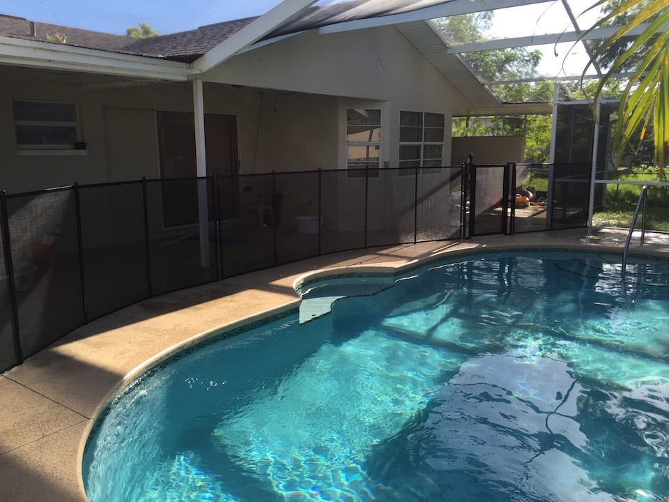 Pool Swimming Deltona Fence